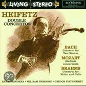 Double Concertos: Bach, Mozart, Brahms / Heifetz et al