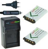 ChiliPower NP-BX1 Sony Kit (2 accu's + lader + 12V autosnoer)