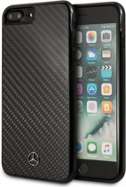 iPhone 8 Plus/7 Plus/6s Plus/6 Plus hoesje - Mercedes-Benz - Zwart - Carbon