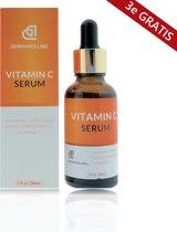 3 x Dermarolling Vitamine c serum 30ml.
