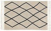 Wasbaar tapijt Bereber Beige - 140x200cm