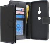 Sony Xperia XZ2 hoesje - CaseBoutique - Zwart - Kunstleer