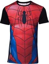 Marvel - Sublimated Spiderman Men s T-shirt - L
