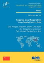 Corporate Social Responsibility in Der Supply Chain in China