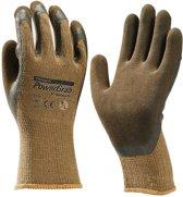 Towa handschoen Powergrab Premium bruin mt 9 (L)