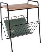 Side table w. rack small