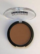 Lovely Pop Cosmetics - Compact Poeder - koffie bruin - donkere tint - donkere huid - nummer 11