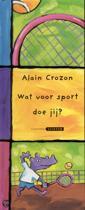 Prentenboek Wat voor sport doe jij?