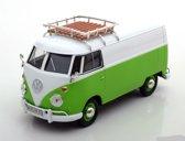 Volkswagen T1 Type 2 Wit / Groen 1-24 Motormax