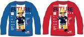Blauw shirt van Brandweerman Sam maat 128, Future