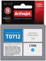ActiveJet AE-712R inktcartridge Compatible Cyaan 1 stuk(s)
