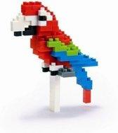 Nanoblock Red-and-green Macaw NBC-034 (ara)