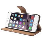 MW Wallet Book Case Bruin voor Apple iPhone 6