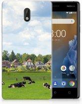 Nokia 3 Uniek TPU Hoesje Koeien