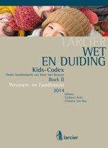 Boekomslag van 'Kids-codex -Tweede herwerkte editie - Wet & Duiding Kids-Codex Boek II'