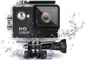 A9 Full HD1080P Action Camera + vele accessoires | Zwart | + BM Goods microvezel schoonmaak doekje