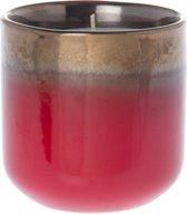 Riverdale Vintage - Kaarsenpot - Rood - 11cm