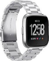 watchbands-shop.nl RVS bandje - Fitbit Versa - Zilver