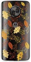 Motorola Moto X4 Hoesje Falling Leaves