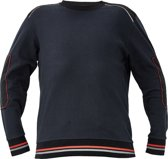 Knoxfield sweater antraciet/rood 2XL