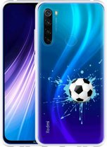 Xiaomi Redmi Note 8 Hoesje Soccer Ball