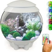 biOrb HALO MCR 15 Aquarium - 32,4x32,733,7 cm - 15L - Wit