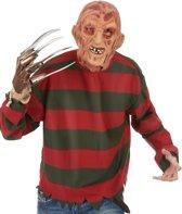Masker Freddy Krueger™ volwassenen Halloween artikel - Verkleedmasker - One size