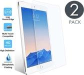 2x Apple iPad Air 2 - Tempered Glass / Glazen Screen protector - Screenprotector Transparant 2.5D 9H Gehard Glas