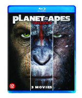 DVD cover van Planet Of The Apes - Trilogy (Blu-ray)