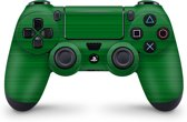 Playstation 4 Controller Skin Brushed Groen- PS4 Controller Sticker