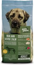 Pets Place Naturals Adult Large Breed - Hondenvoer - Zalm - 3 kg