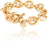 TOV Essentials - Small oval gourmet bracelet - Armband - Ovale schakel - Goud