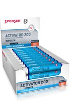 Sponser Activator 200 - Caffeïne ampul - 30 x 25 ml - Fruit Mix