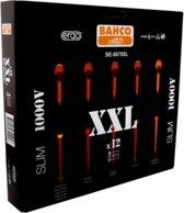 Bahco BE-9878SL ERGO™ VDE schroevendraaierset met smalle bladen, 12-delig