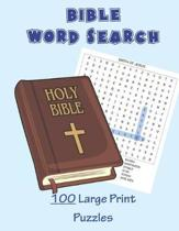 Bible Word Search - 100 Large Print Puzzles