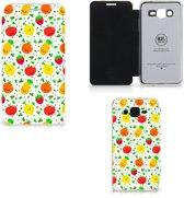 Samsung Galaxy Grand Prime Book Cover Fruits