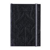 Paseo black embossed notebook b5