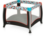 Hauck Play n Relax Square Campingbedje - Gumball Black