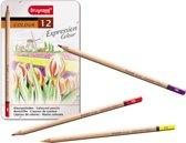 Bruynzeel Expression Colour blik - 12 kleurpotloden