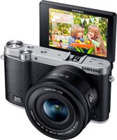 Samsung NX3000 + 16-50 mm Powerzoom - Systeemcamera - Zwart