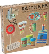 Re-cycle-me knutselpakket muziekinstrumenten