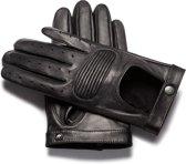 NapoSPEED Echt lederen touchscreen handschoenen Zwart maat XL
