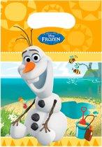 Feestzakjes Frozen Olaf: 6 stuks