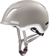 Uvex City 9 Fietshelm - Grijs - Maat M/L (58-61cm)