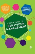 A Quick Guide to Behaviour Management