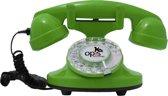 retro telefoon draaischijf Funkyfon groen