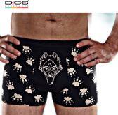 DICE Underwear Heren Boxer Wolf zwart/beige maat M