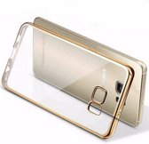 Siliconen hoesje Goud Samsung Galaxy S7 Edge perfect fit case