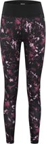 Redmax Dames training tight all over print - Zwart/ Paars all over printed - Maat: XL