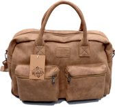 Beagles Omhang Hand & Schoudertas Bowling Western Bag Taupe